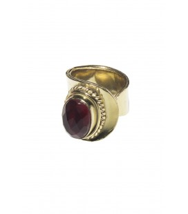 Anillo red-blue